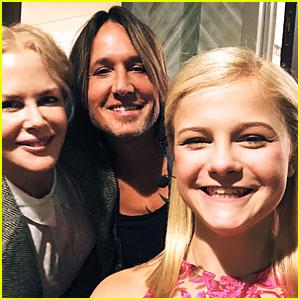 Darci Lynne Farmer Meets Keith Urban & Nicole Kidman Backstage at Her Ryman Concert!