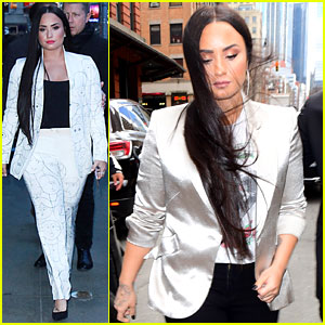 Demi Lovato Appears on 'GMA' Ahead of Her NYC Concert!