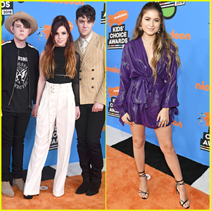 Echosmith Join Singer Sofia Reyes at Kids' Choice Awards 2018