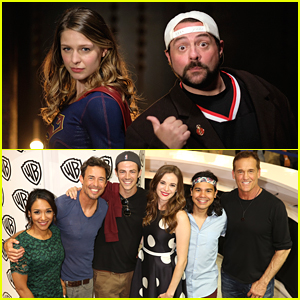 'The Flash' & 'Supergirl' Casts Send Get Well Cards To Director Kevin Smith