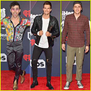 Former Nickelodeon Guys MAX, James Maslow & Kendall Schmidt Hit Up iHeartRadio Music Awards 2018