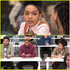 Zoey Has To Choose Between Aaron, Cash or Luka on 'grown-ish's Season Finale