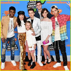 Nickelodeon's 'Hunter Street' Cast Hits Up Kids' Choice Awards 2018