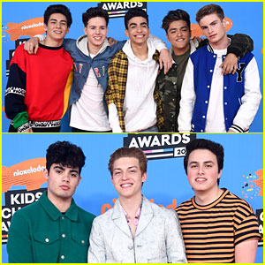 In Real Life & Forever in Your Mind Unite at Kids' Choice Awards 2018!