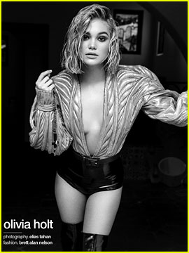 Olivia Holt Poses for Stunning 'Schon' Magazine Shoot - See the Pics!