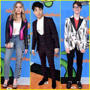 Jade Pettyjohn Joins 'School of Rock' Co-Stars at Kids' Choice Awards 2018