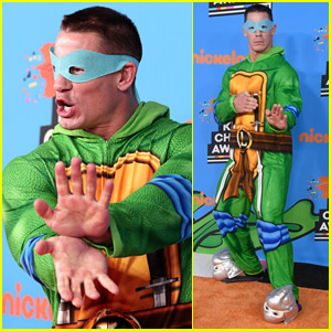 John Cena Wins KCAs 2018 Orange Carpet in TMNT Onesie!
