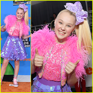 JoJo Siwa Debuts First of Three Looks at Kids' Choice Awards 2018