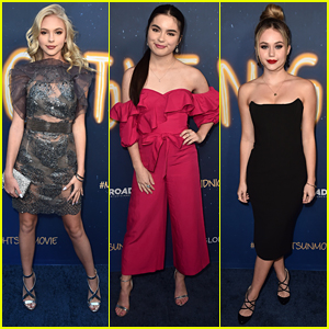 Jordyn Jones, Landry Bender & Brec Bassinger Glam Up For 'Midnight Sun' Premiere