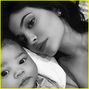 Kylie Jenner Takes Cute Selfies With Baby Stormi - See the Adorable Pics!