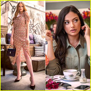 Larsen Thompson & Inanna Sarkis Attend 'Teen Vogue' & Juicy Couture Luncheon