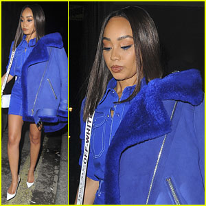 Leigh-Anne Pinnock Steps Out After Little Mix Records First New Song For Fifth Album
