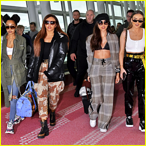 Little Mix Arrive in Japan To Kick Off Summer Leg of 'Glory Days' Tour