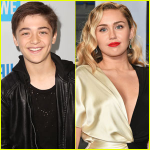 Miley Cyrus Just Gave Asher Angel The Best Advice!