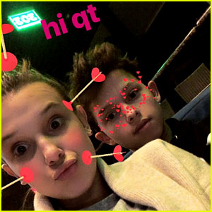 Millie Bobby Brown & Jacob Sartorius Share Cute New Pics Together!