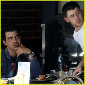 Nick Jonas Chats With Brother Joe Following His Kiss With Annalisa Azaredo