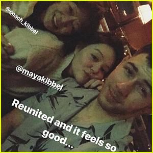 Nick Jonas Reunites With Childhood BFF Maya Kibbel - See the Pic!