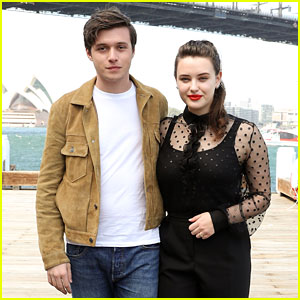 Katherine Langford & Nick Robinson Team Up for 'Love, Simon' Photo Call in Sydney