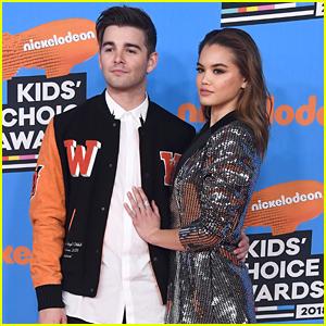Paris Berelc & Jack Griffo Couple Up For Kids' Choice Awards 2018