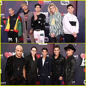 Boy Bands PRETTYMUCH & CNCO Hit iHeartRadio Music Awards 2018