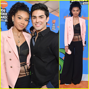 On My Block's Sierra Capri & Diego Tinoco Hit Up Kids' Choice Awards 2018 Together