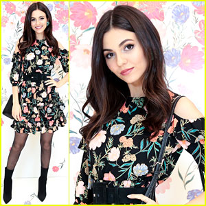 Victoria Justice Celebrates First Day of Spring with kate spade new york!