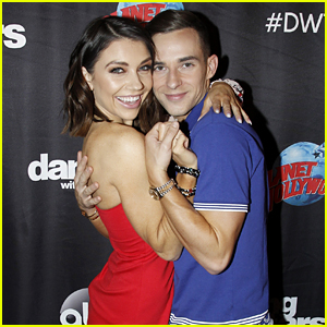 Adam Rippon Thinks He Has The Best Partner For 'DWTS' - Jenna Johnson