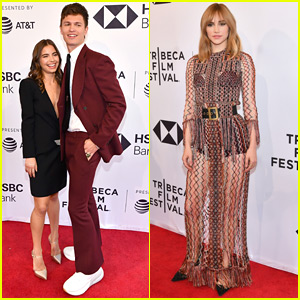 Ansel Elgort is Joined by Girlfriend Violetta Komyshan at 'Jonathan' Premiere