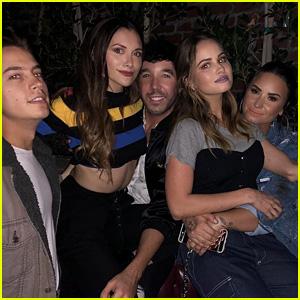 Demi Lovato, Debby Ryan, Alyson Stoner & More Disney Stars Reunite at Hayley Kiyoko's Party!