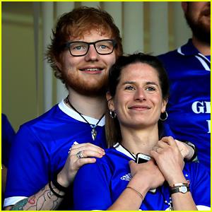 Ed Sheeran Cuddles Fiancee Cherry Seaborn in New Cute Photos!