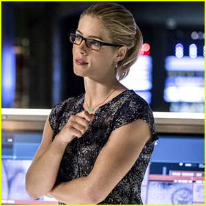 Emily Bett Rickards Reveals Felicity & Curtis' Tech Company on 'Arrow' Will Come Back This Season
