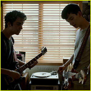 Alex Wolff Teaches Asa Butterfield To Play The Bass in 'House of Tomorrow' Clip (Exclusive)