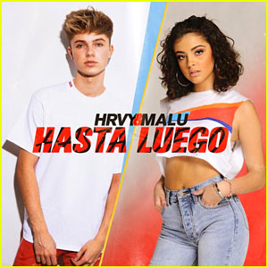 HRVY Teams Up with Malu for 'Hasta Luego' - Watch Now!