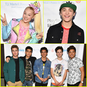 In Real Life Joins JoJo Siwa & Asher Angel at T.J. Martell Foundation's Family Day!
