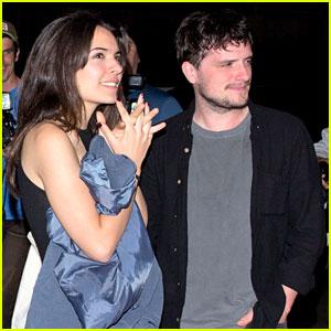 Josh Hutcherson & Claudia Traisac Couple Up for a Comedy Show