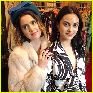 Laura Marano & Camila Mendes Wrap Filming on New Movie 'The Stand In'