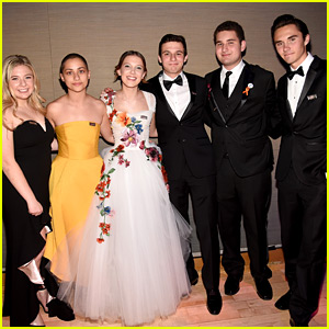 Millie Bobby Brown Stands Strong with Parkland Students at Time 100 Gala