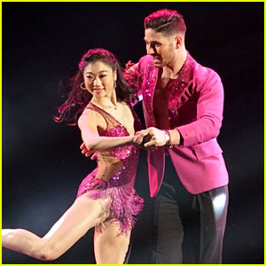 Watch Mirai Nagasu's First Performance on 'Dancing With the Stars' (Video)