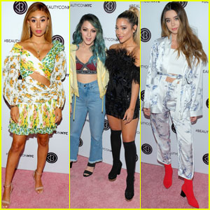 Niki & Gabi DeMartino Join Eva Gutowski & Sierra Furtado at Beautycon 2018