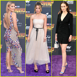 Olivia Holt, Chloe Bennet & Alycia Debnam-Carey Completely Stun at 'Avengers: Infinity War' Premiere