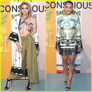 Paris Jackson & Kiersey Clemons Go Green at H&M Conscious Exclusive Launch