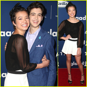 Andi Mack's Peyton Elizabeth Lee & Joshua Rush Step Out For GLAAD's Rising Star Luncheon 2018