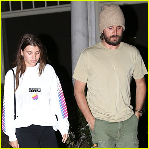 Sofia Richie & Boyfriend Scott Disick Sure Love Sugarfish Sushi!