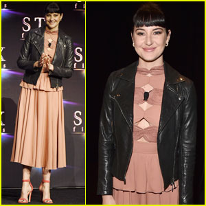 Shailene Woodley Promotes 'Adrift' at CinemaCon 2018!