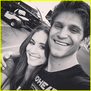 Troian Bellisario Shares Sweet Support for Keegan Allen's New Book