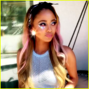 Vanessa Morgan Turned Back Into Toni Topaz For Coachella This Weekend