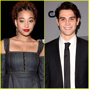 Amandla Stenberg & KJ Apa's New Movie 'The Hate U Give' To Premiere in October