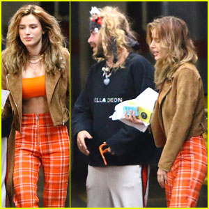 Bella Thorne Wears 70s Inspired Outfit Ahead of Music Video Release
