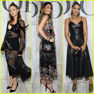Billie Lourd, Paris Jackson, & Alexandra Shipp Look Chic at Christian Dior Cruise Collection Photo Call!