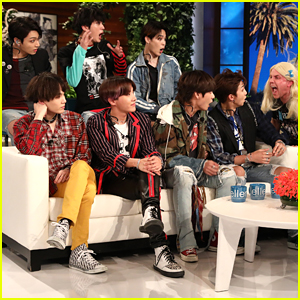 BTS Gets Scared Out of Their Seats by Ellen DeGeneres - Watch!